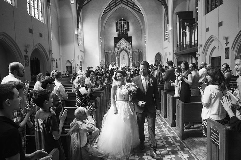 B&W wedding photos