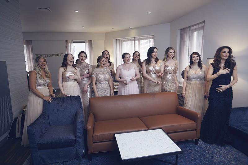 Andaz Hotel bridal preparation