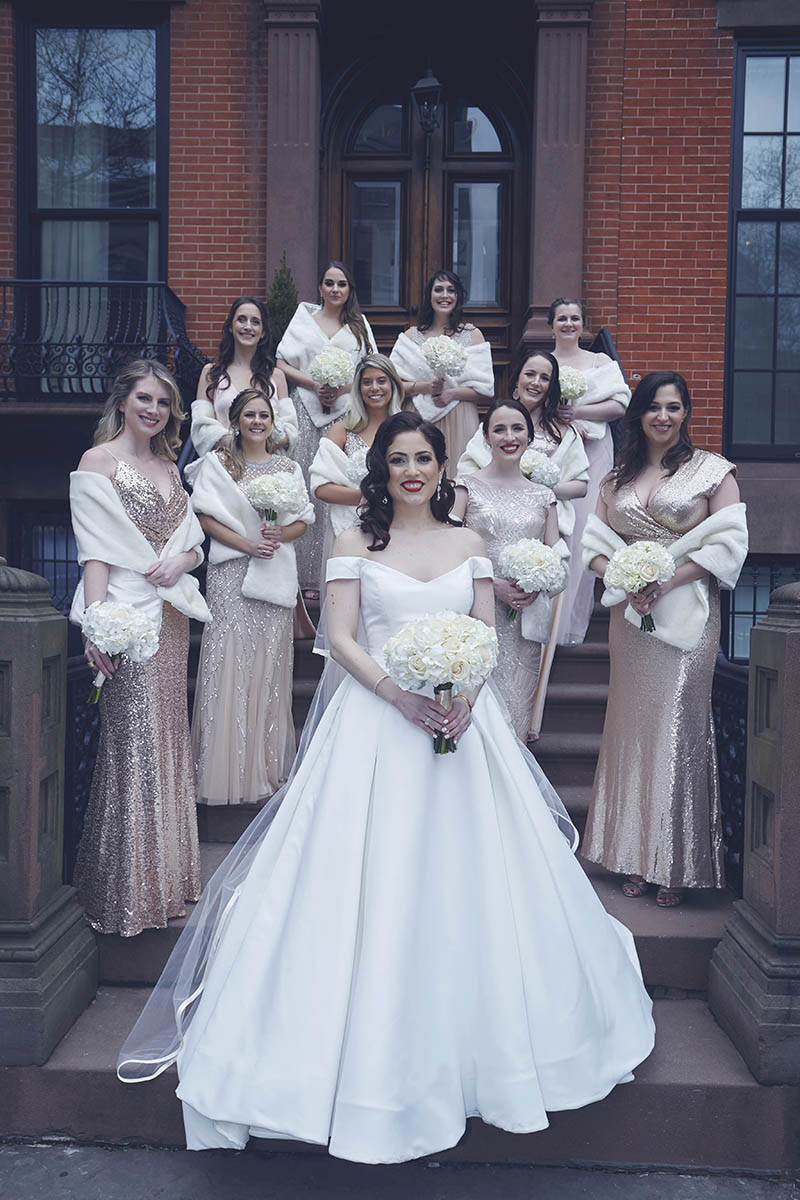 Brooklyn Heights wedding photography