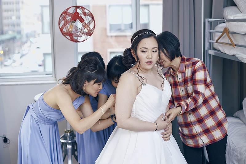 NU Hotel bridal preparation