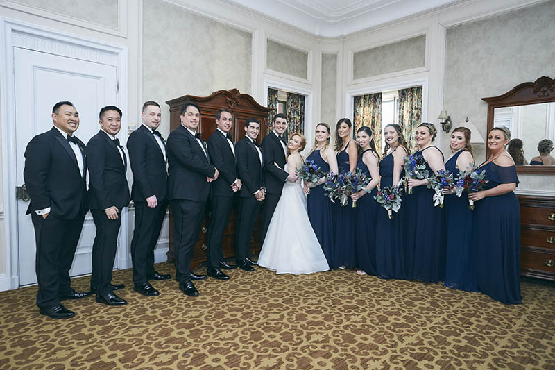Wedding group shots