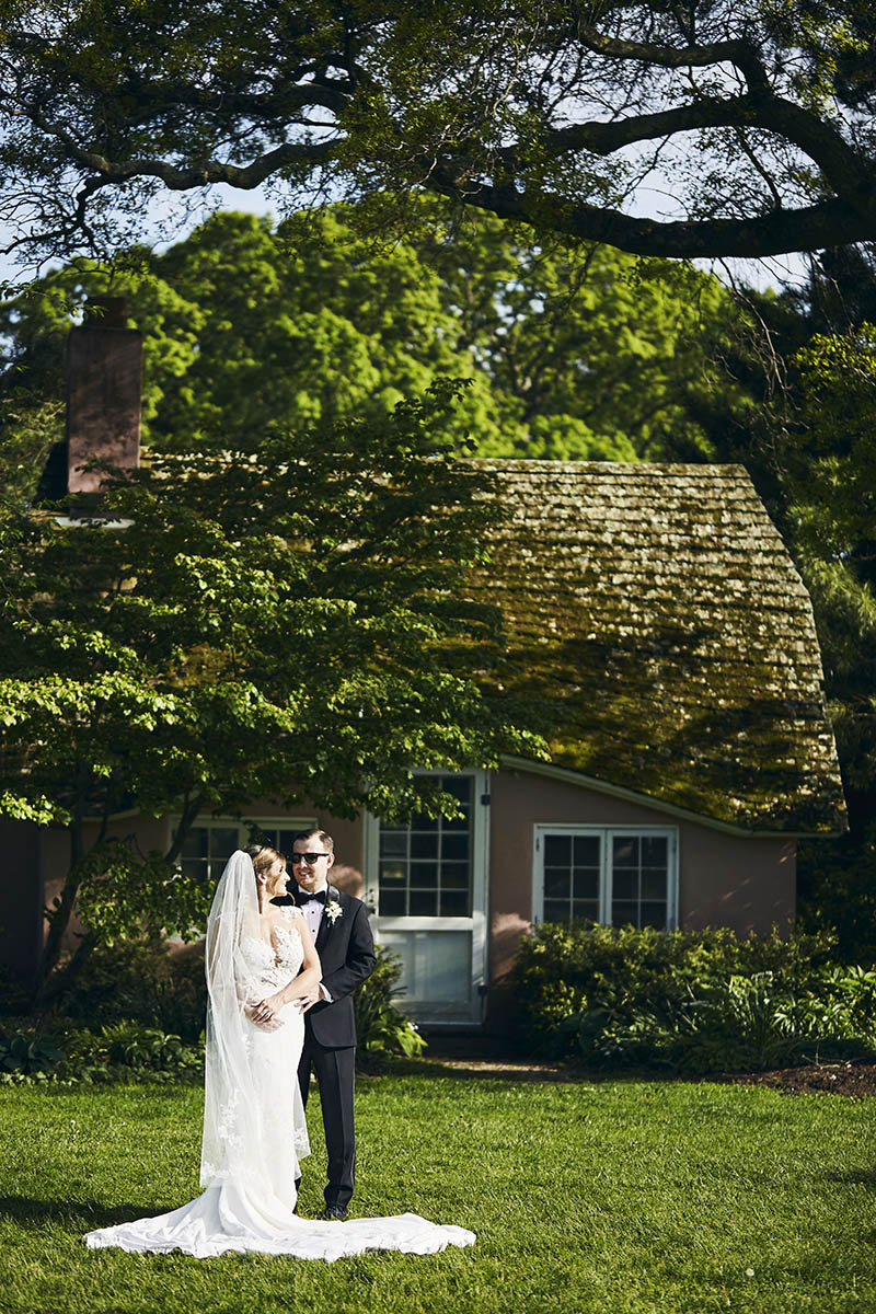 Long Island Arboretum wedding photography