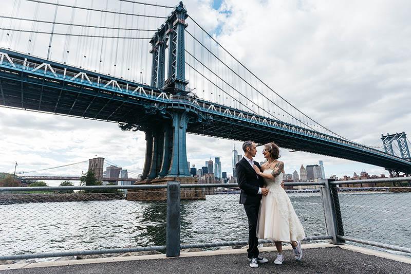 DUMBO elopement photographer