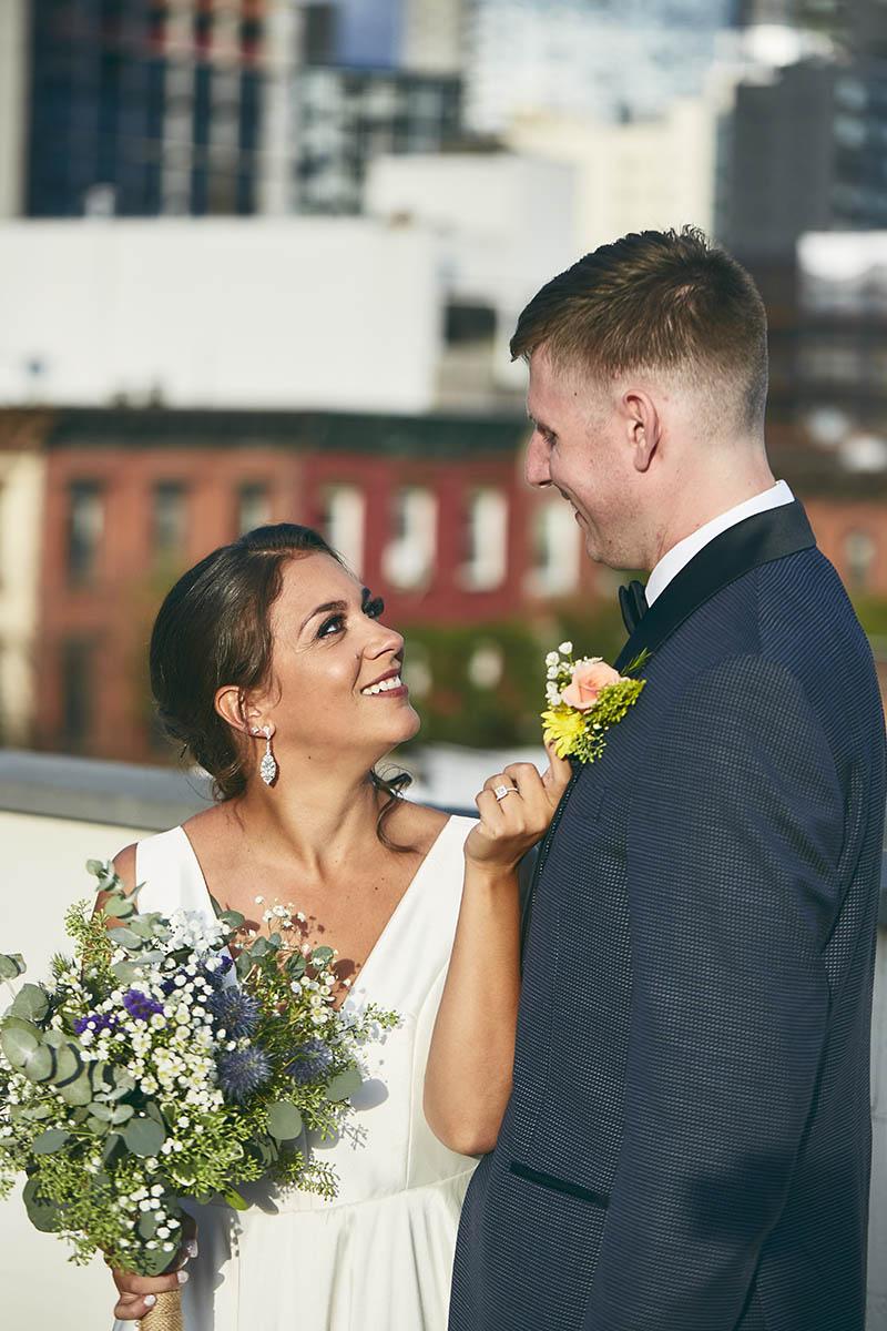 Rooftop wedding venue Brooklyn