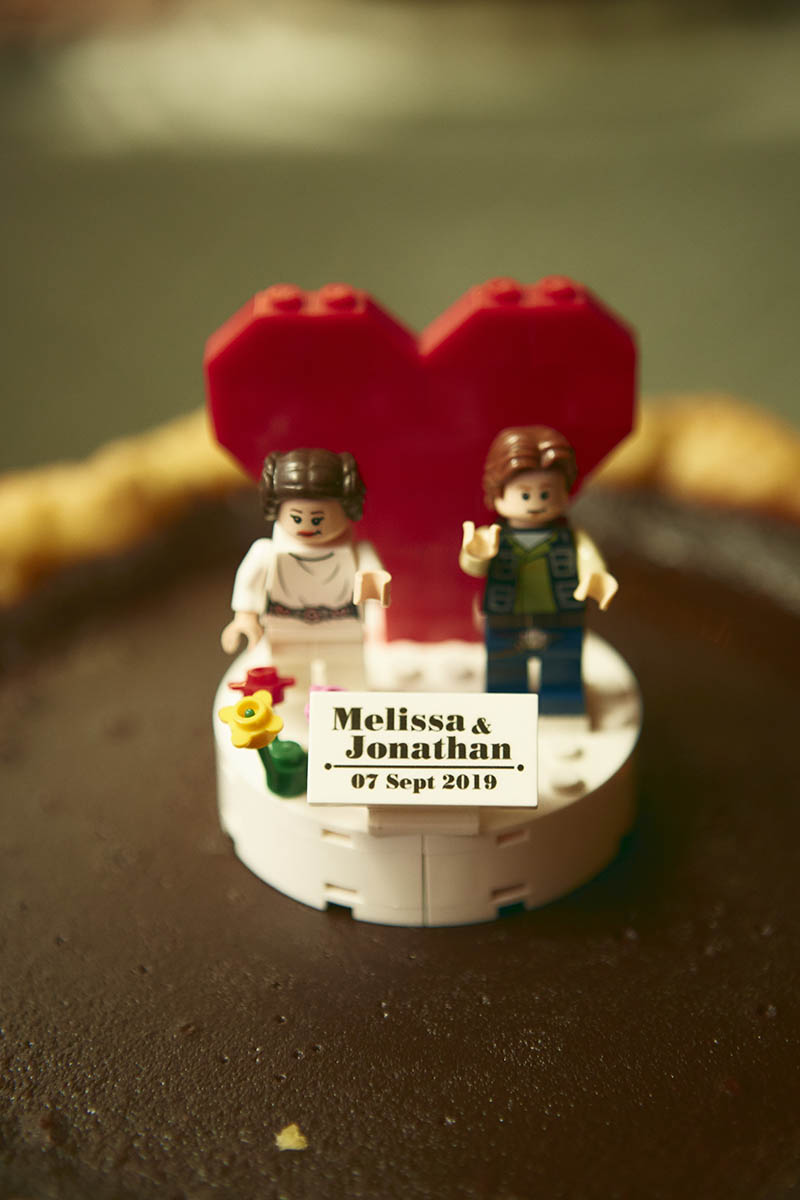 Cake lego topper