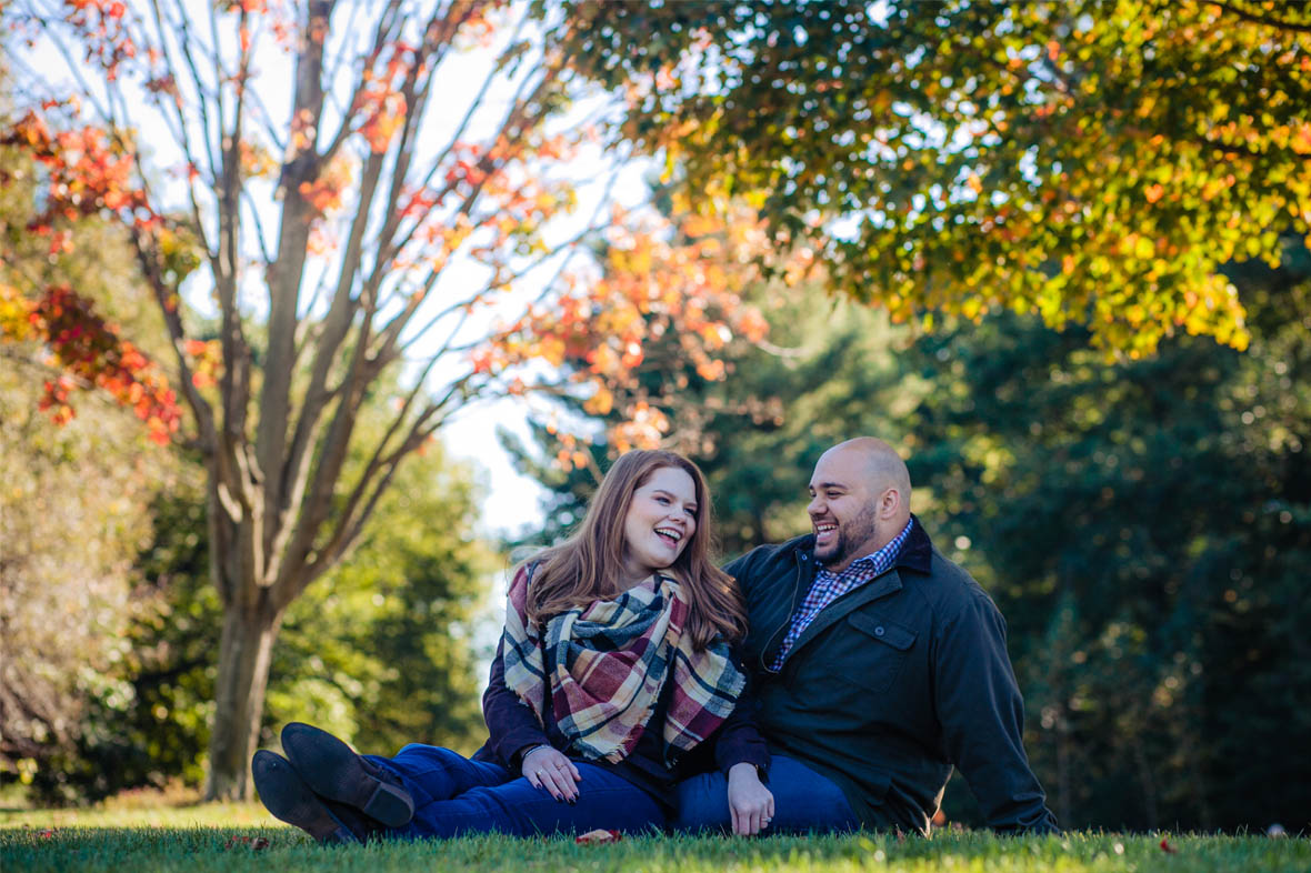 Fall Brooklyn engagement