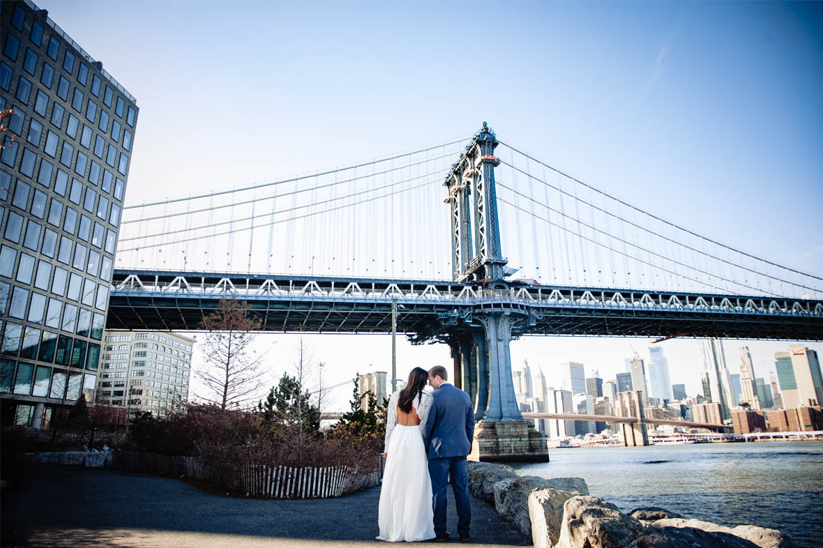 Affordable elopement photography NYC