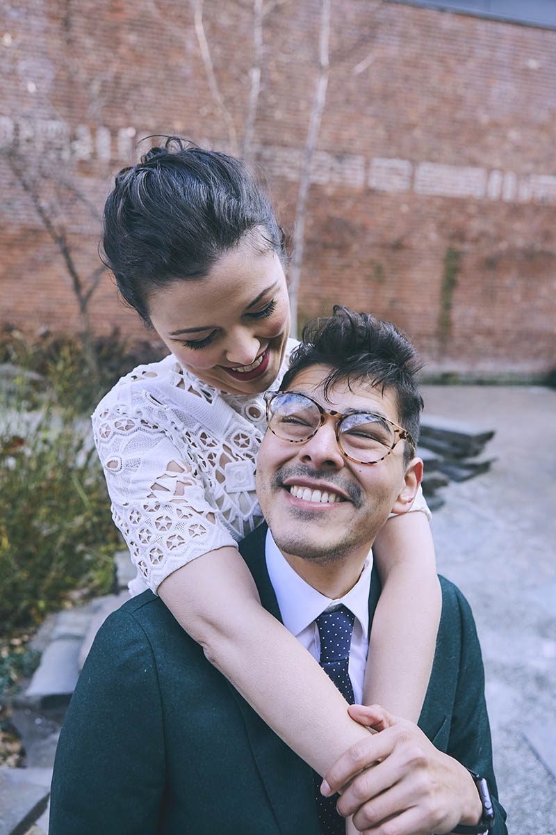 Brooklyn Bridge Park wedding portraits