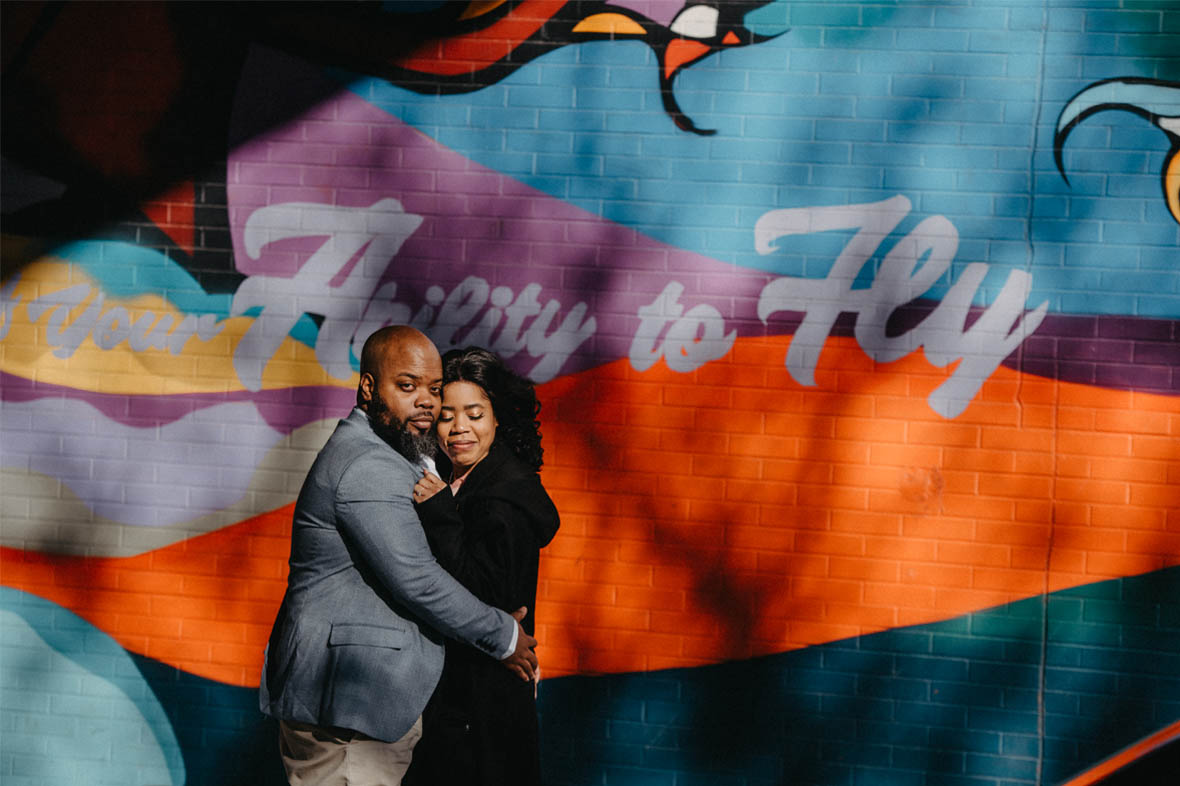 African American Engagment photos in Brooklyn