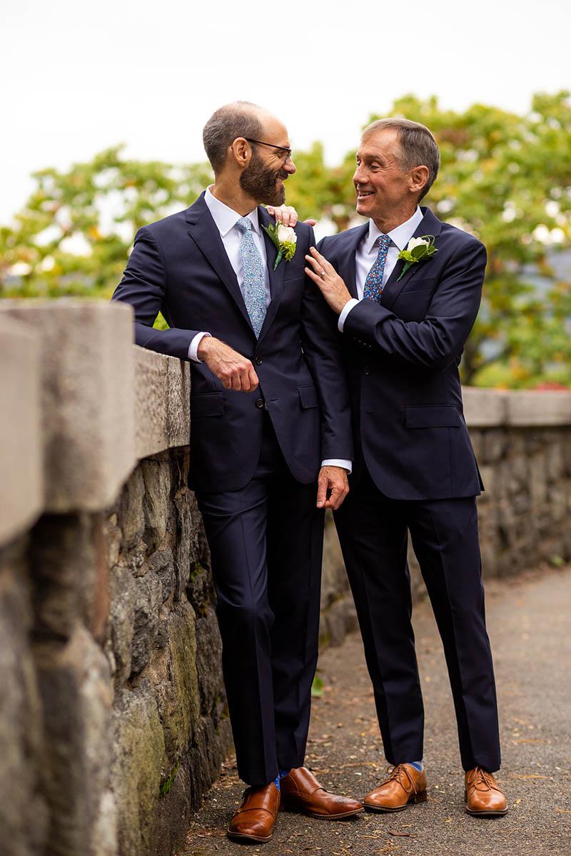 Same sex wedding photos