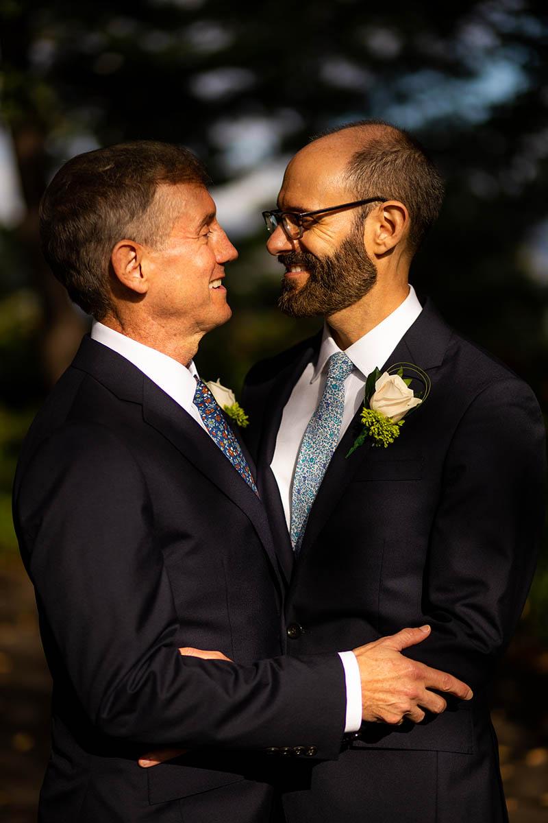 Same sex wedding portraits