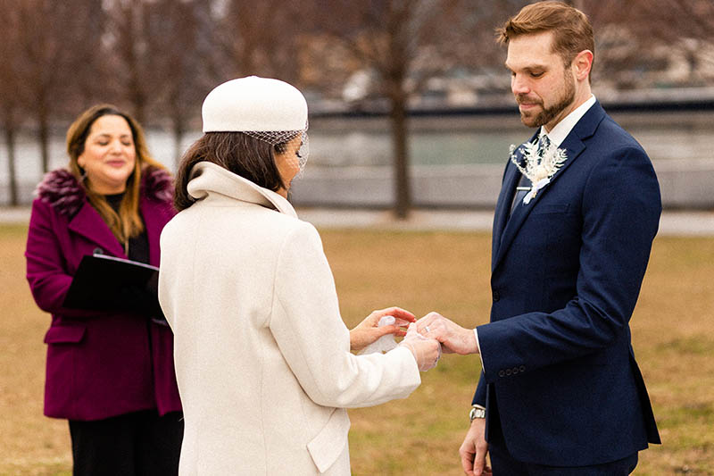 Winter elopement locations in NYC