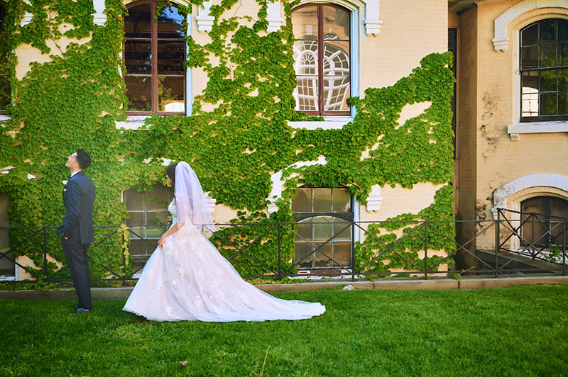 Wedding reveal at Snug Harbor