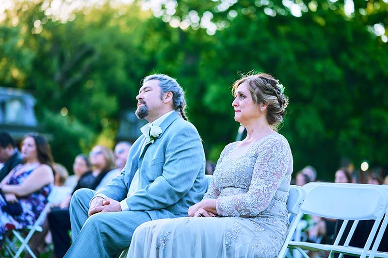 Snug Harbor wedding ceremony